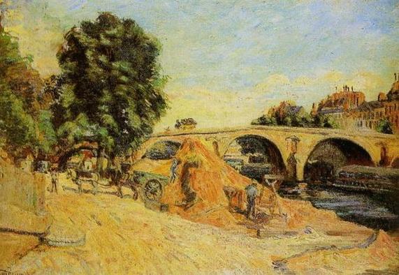 Armand Guillaumin - Le Pont Marie