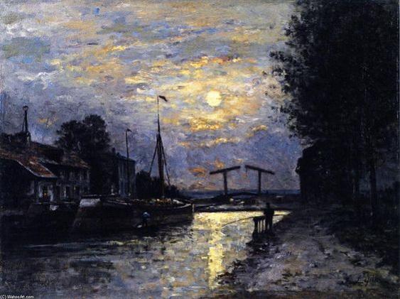 Stanislas Lepine - Canal in Saint-Denis 2