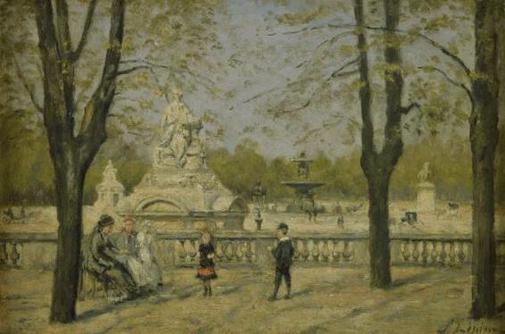 Stanislas Lepine - La place de la Concord