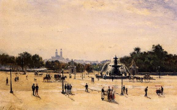 Stanislas Lepine - Place de la Concord
