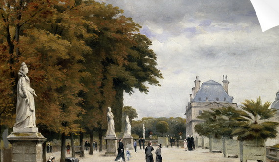 Stanislas-Lepine - The Luxembourg Gardens