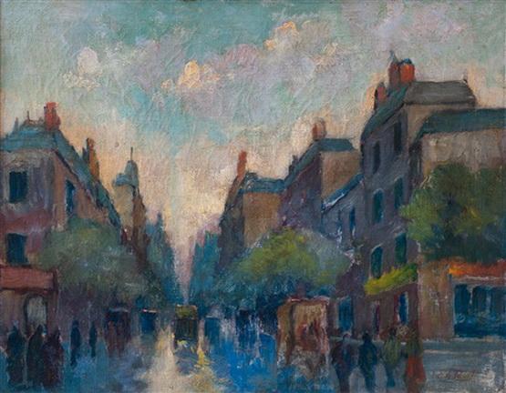 Elie Anatole Pavil - Calle de Paris