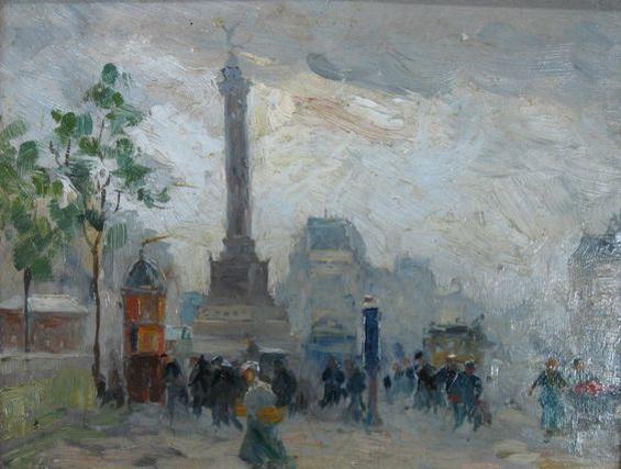 Elie Anatole Pavil - Place de Bastille