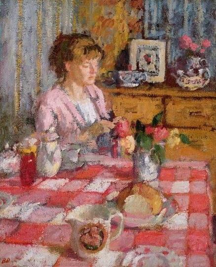 Bernard Dunstan The Tea Table
