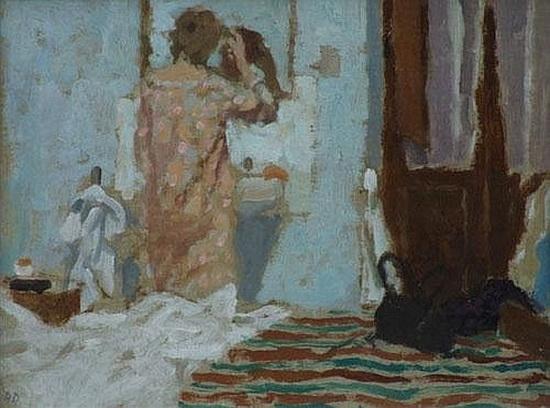 Bernard Dunstan - Interior, Orvieto