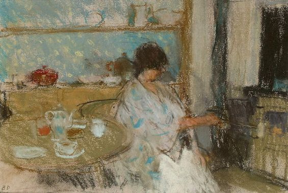 Bernard Dunstan - Making breakfast