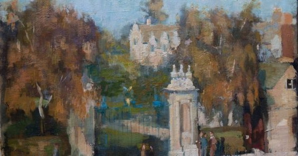 Bernard Dunstan - Trinity Gate, Oxford