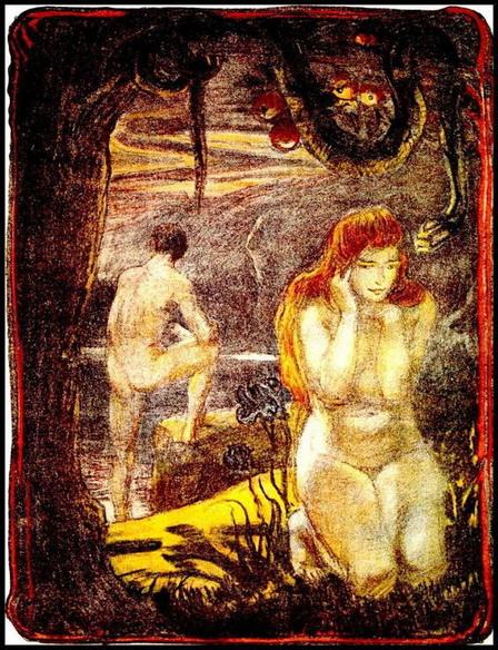 Ludwig von Hofmann - Adam & Eve
