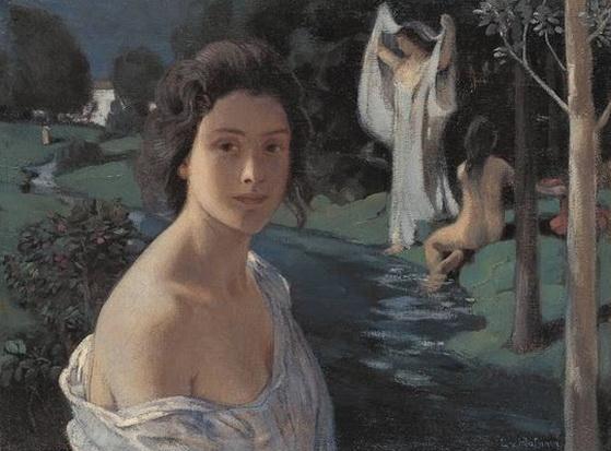 Ludwig von Hofmann - Notturno