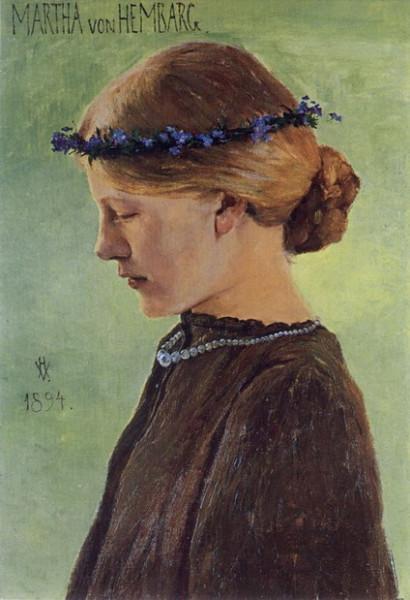 Heinrich Vogeler - Martha