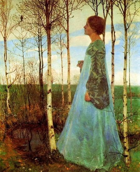 Heinrich Vogeler - Spring