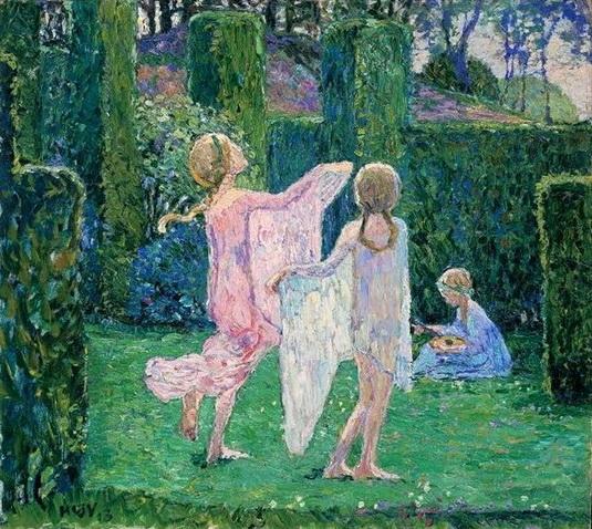 Heinrich Vogeler - Dancing Children