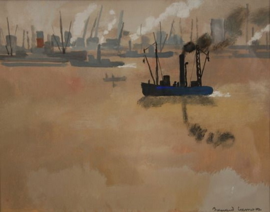 Bernard Lamotte - View of a Port