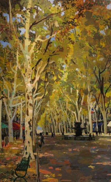 Bernard Lamotte -Autumn in Paris