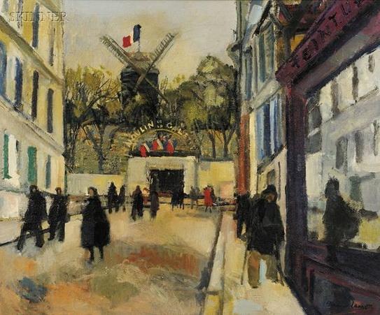 Bernard Lamotte - Moulin de la Galette
