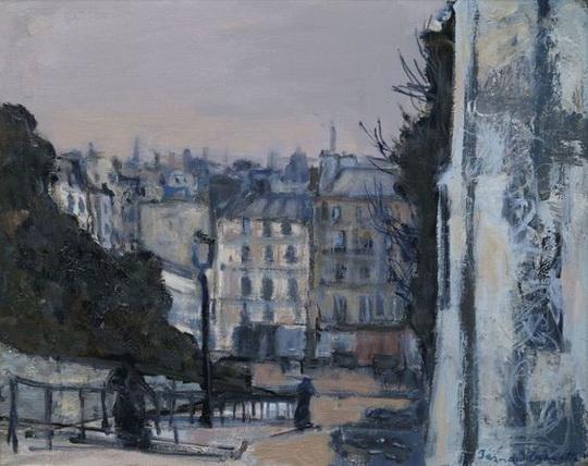 Bernard Lamotte - La Butte Montmartre