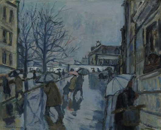 Bernard Lamotte - Montmartre in the Rain