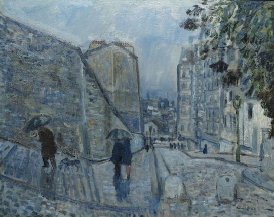 Bernard Lamotte - Rain, Montmartre
