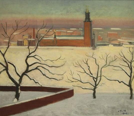 Einar Jolin - Stockholmsmotiv