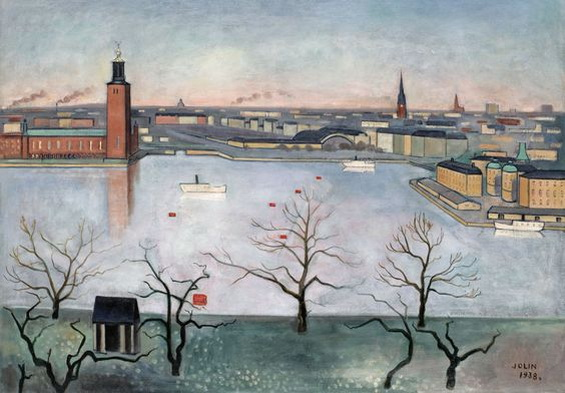 Einar Jolin - Stockholm from the heights of Soder