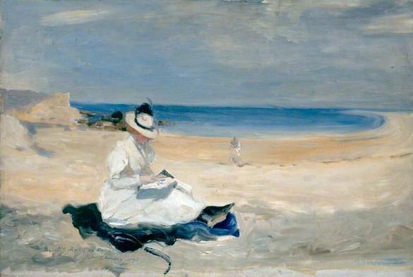 Charles-Conder The-Shore-at-Dornoch