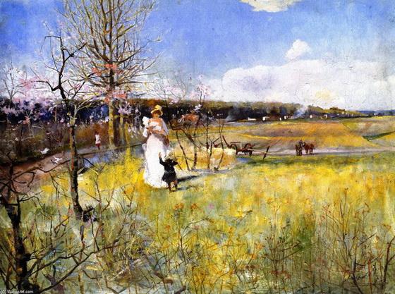 Charles-Conder-Springtime