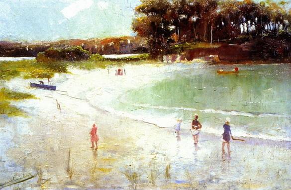 Charles-Conder-xx-Balmoral-Beach