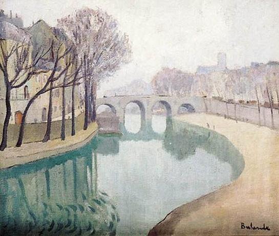 Gaston Balande - La Seine