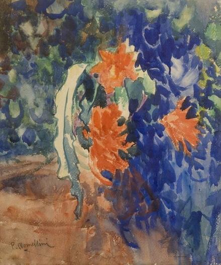 Plinio Nomellini - Fiore del deserto