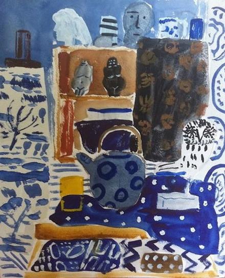 Bella Foster Blue Interior