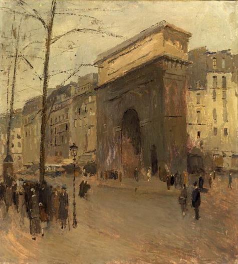Frank Edwin Scott - Porte St. Denis
