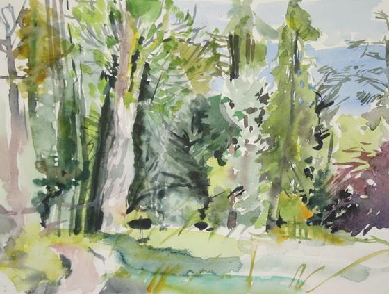 Karen Bowers - Micks Wood No1