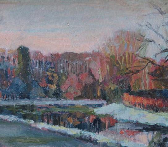 Karen Bowers -  Cold Morning