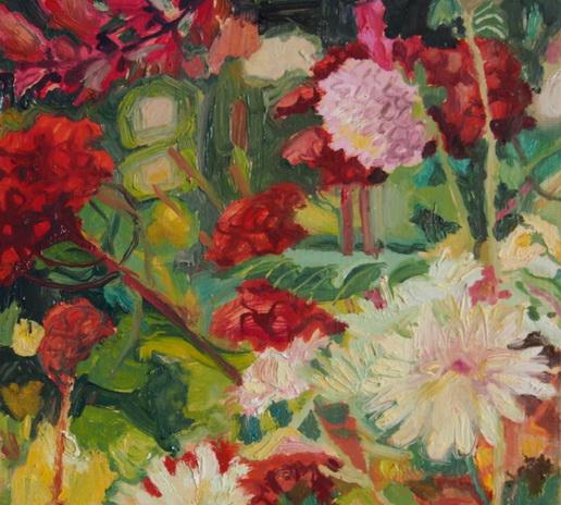 Karen Bowers -  Autumn Border