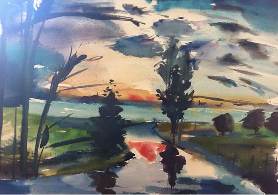 Karen Bowers -  River Coln 2
