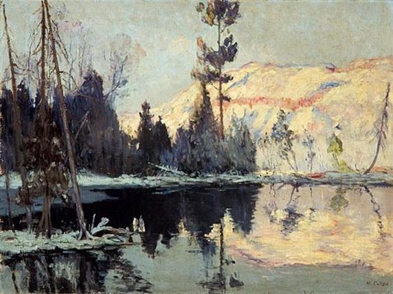 Maurice Galbraith Cullen - Sunrise, Lac Tremblant