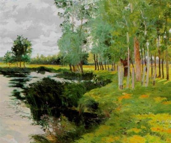 Maurice Galbraith Cullen - Bord de riviere