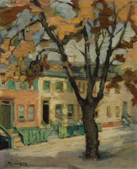 Marion Long - Autumn in the ward