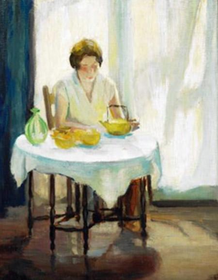 Marion Long - self portrait
