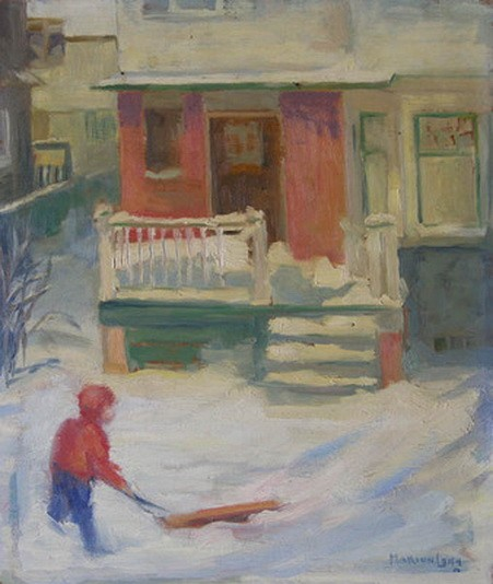 Marion Long - SNOWY AFTERNOON