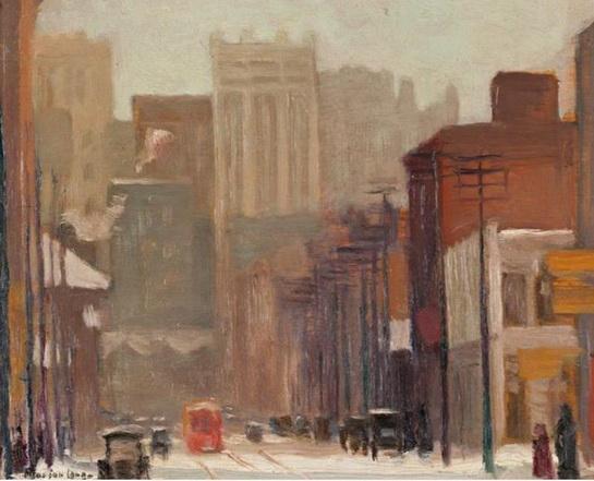 Marion Long - Toronto Street Scene