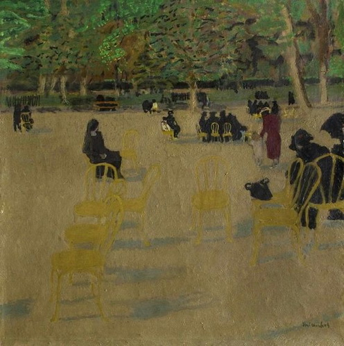 Maurice Brianchon - Au parc