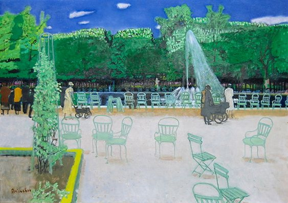 Maurice Brianchon - Les Tuileries