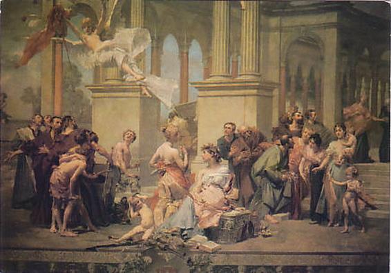 Vojtech Hynais - The curtain of the Prague National Theatre