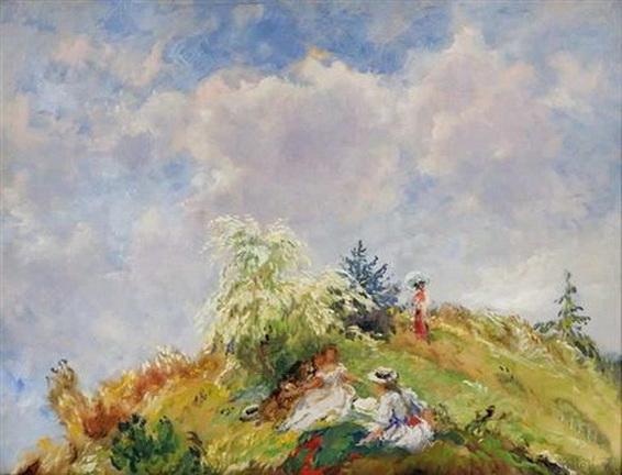 Oldrich Blazicek - On a hill