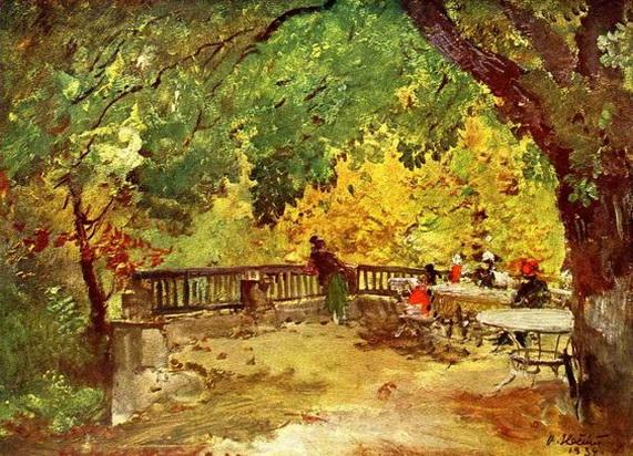 Oldrich Blazicek - Odpoledne v parku