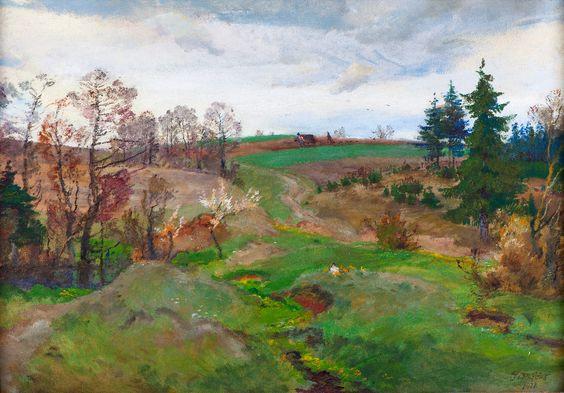 Oldrich Blazicek - Podzimni krajina