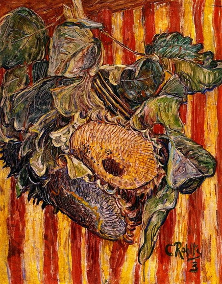 Christian Rohlfs - Sunflowers