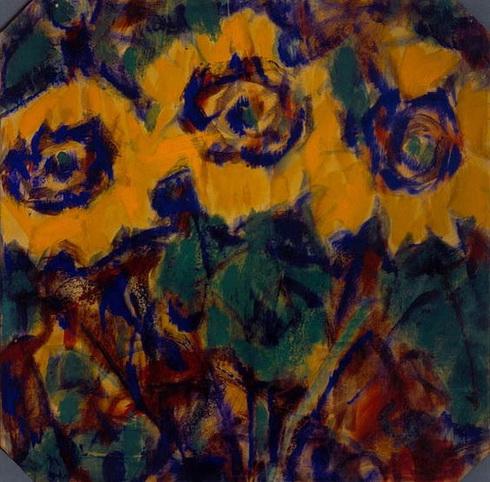 Christian Rohlfs - Sunflowers 2