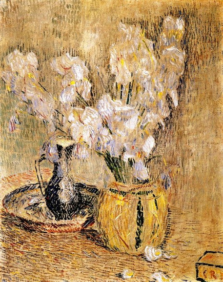 Christian Rohlfs - Still Life with White Lillies